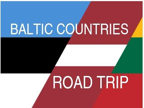 ESTONIA - LATVIA - LITHUANIA | ROAD TRIP