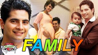 Karan Mehra Family With Parents, Wife, Son and Brother