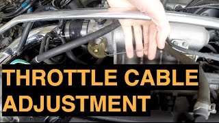 Throttle Cable Adjustment - Project Integra