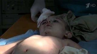 Repeat youtube video 20 июня 2014, В Славянске под огнем артиллерии погибли трое мирных жителей, среди раненых   пятилетн