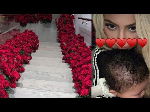 Travis Scott SURPRISES Kylie Jenner By Covering ENTIRE HOUSE With Flowers! Proposal Or Pregnancy?! Mp3