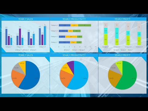 How to Create Most Beautiful Reporting Dashboard: MICROSOFT POWERPOINT 2016 TUTORIAL