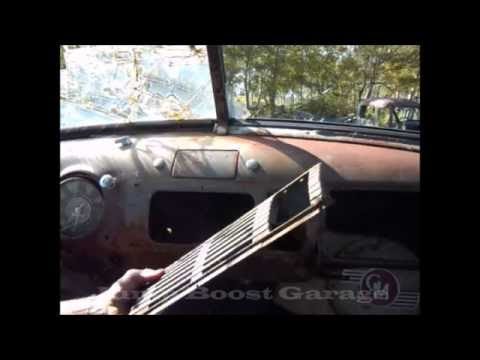 How To Remove The Dash Trim / Glove  Box In A 1947 - 1953 Chevy / GMC Truck