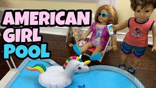 Swimming Pool For American Girl Doll - NEW