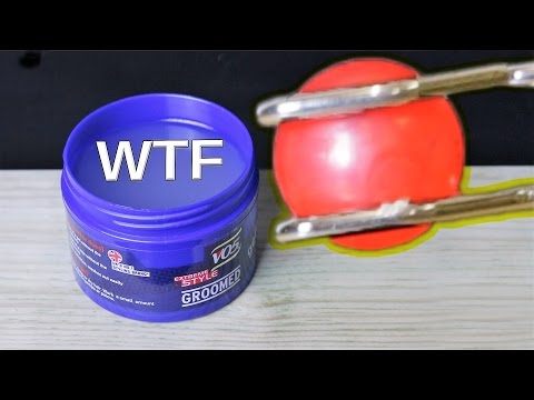 🔴 WTF Just Happened? EXPERIMENT Glowing 1000 degree METAL BALL VS Hair Gel