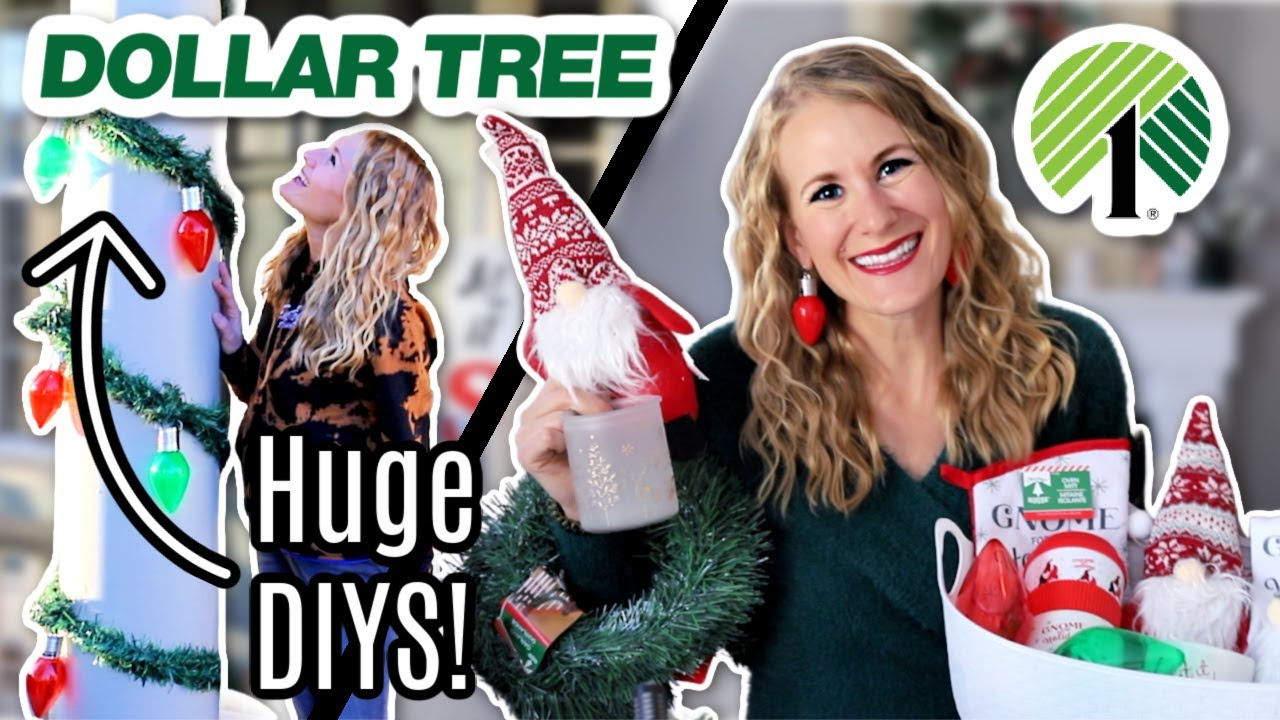 *NEW!* Dollar Tree Christmas SECRETS for 2020! 😱🎄 (No Skill Required DIYs + Gift Ideas!)