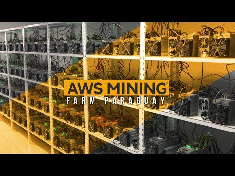 [AWS MINING ENGLISH] Bitcoin and Altcoin Mining Farm Paragua
