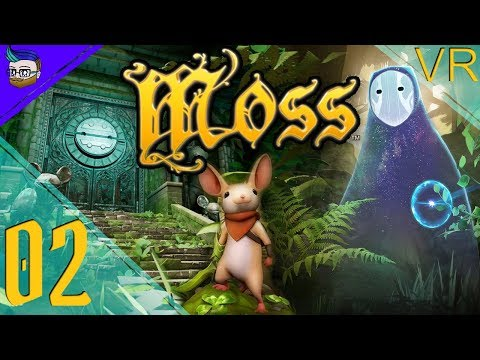 CROSSING INTO THE SPRITE'S DOMAIN | A Rustic VR Adventure | Moss (VR Game) #2