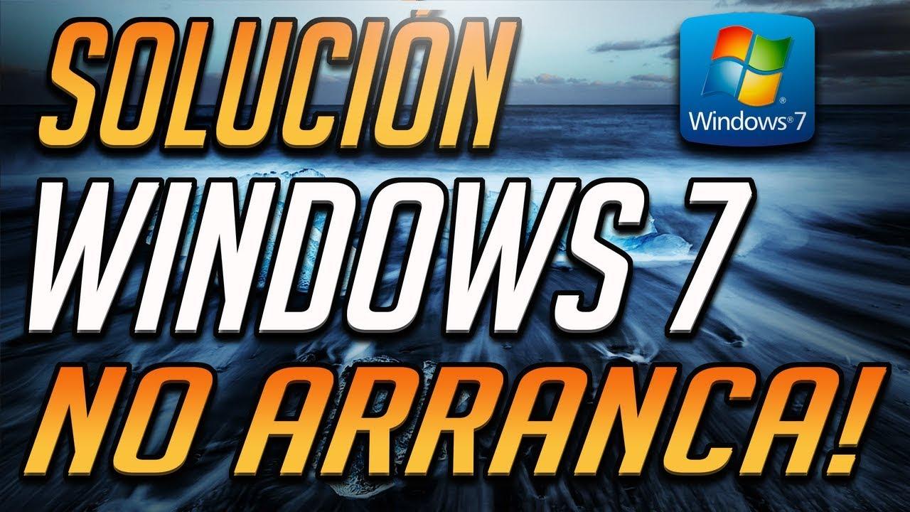Como Reparar Windows 7