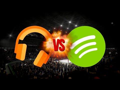 ¿Cual es el mejor? Spotify o Google Play Music