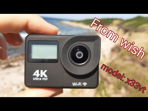 Action Cam From Wish Water Test