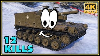 M44 - 12 Kills - World of Tanks Arty Gameplay - 4K Video