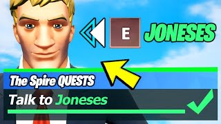 Talk to Joneses & JONESES LOCATIONS - Fortnite