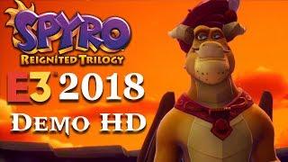 Spyro Gameplay E3 Demo 2018 HD 1080p thumbnail