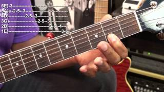 Looks Difficult But Easy When You Know How Guitar Lesson BlackmonMusicHD