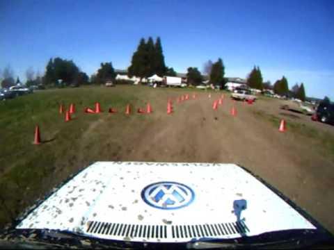 Oregon Rally Group ORG Rallycross #2 April 5, 2009 PM Vw Rabbit GTI