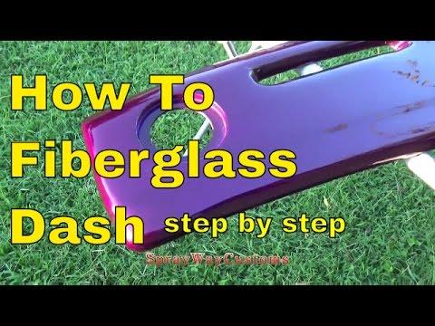 How To Fiberglass Dash,Speaker Pods,Door Panels,Sub Box etc..Step By Step...Box Chevy Caprice