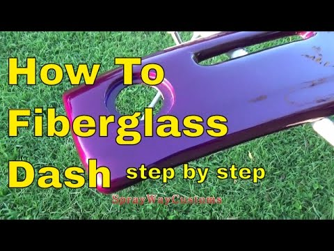 How To Fiberglass Dash,Speaker Pods,Door Panels,Sub Box Etc..Step By Step...Box Chevy Caprice