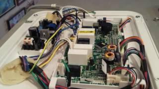 Ремонт Холодильника ХАЕР (HAIER). SbS HB21FNN(Не запускается мотор-компрессор. Ремонт дефектного блока управления. Извините за качество операторства..., 2017-01-26T07:24:48.000Z)