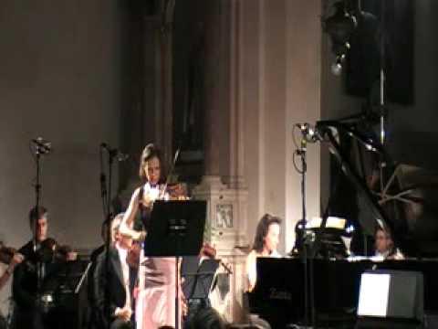 Natasha Korsakova and Kira Ratner play Mendelssohn Double Concerto, 1st mov. (1/1)