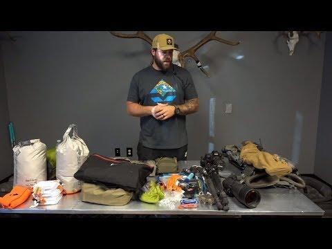 Lorenzo Sartini's 2018 Idaho Backcountry Gear List