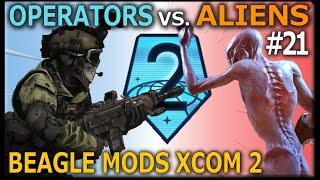 ❰ OPERATORS VS. ALIENS ❱ Mission #21 - Beagle's Modded Legend XCOM 2: War of the Chosen Campaign