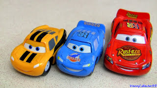 Dinoco Chick Hicks vs Lightning McQueen Mini Adventures 2-pack Cars 2 Disney Pixar Disneycollector