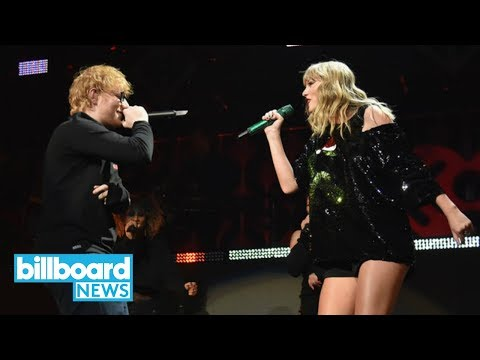 Ed Sheeran, Taylor Swift & More Perform at iHeartRadios Z100 Jingle Ball in NYC  Billboard News