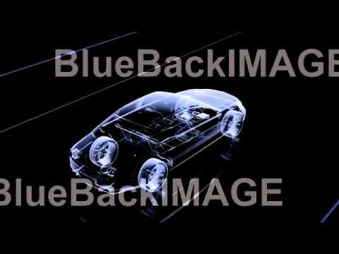著作権フリー 映像素材 動画素材 自動車 車 メカニズム センサー Car Electronics 2Ca
