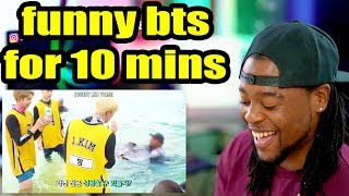 bts being the funniest boyband in the world for 10 minutes straight | Reaction!!! MP3