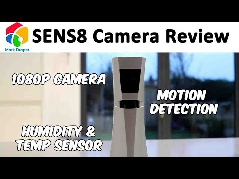 SENS8 Smart All in One Home Security Device