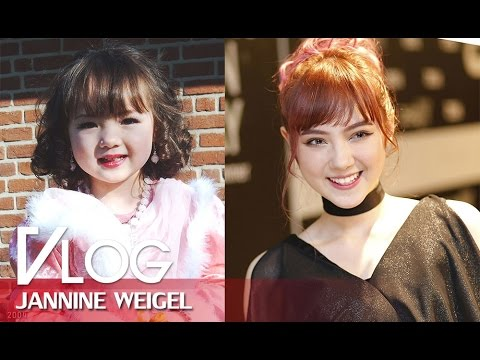 Then & Now Of Jannine Weigel
