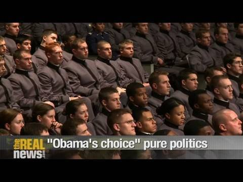 """Obama's choice"" pure politics"