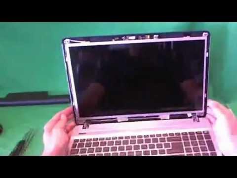 Gateway NV57 Laptop Screen Replacement Procedure