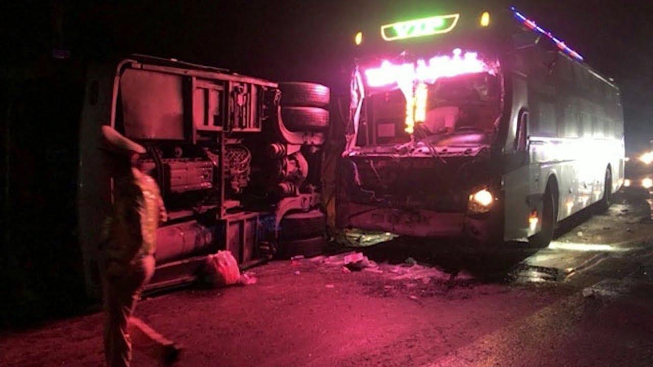 Bình Định:Tai nạn giao thông trên quốc lộ 1A, 1 người chết và 13 người bị thương