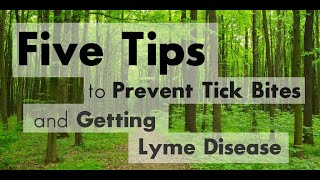 Preventing Tick Bites and Lyme Disease