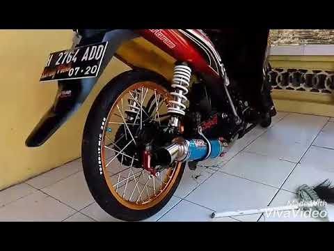 Vega Rr Merah Modif Simple 123 Youtube