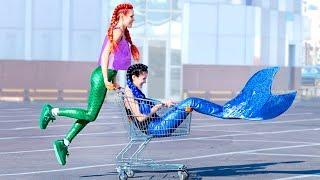 12 DIY Gute Meerjungfrau vs Böse Meerjungfrau Lifestyle-Ideen