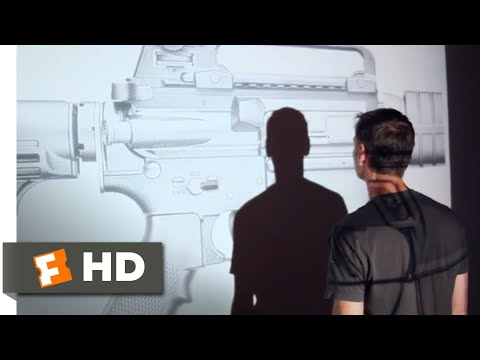 No Control (2015) - AR-15 Art Installation Scene (1/10) | Movieclips