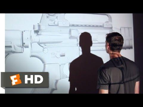 No Control (2015) - AR-15 Art Installation Scene (1/10) | Movieclips