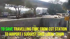 Mumbai Local Train Journey - Mumbai Airport to Chatrapatti Shivaji Terminus (CSTM) via Santacruz