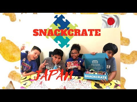 SNACKCRATE: JAPAN - Featuring, VersedGamer And ThePlushie,Gamer,Vlogger!