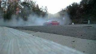 Burning off old tires