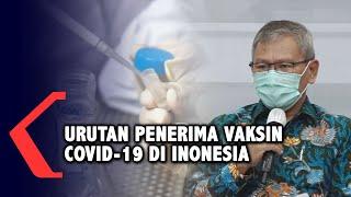 Ini Urutan Prioritas Penerima Vaksin Covid-19 di Indonesia