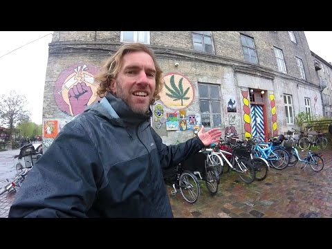 A Tour of Christiania in Copenhagen: Experimental Hippie Vil