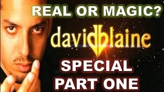 David Blaine Special Part One