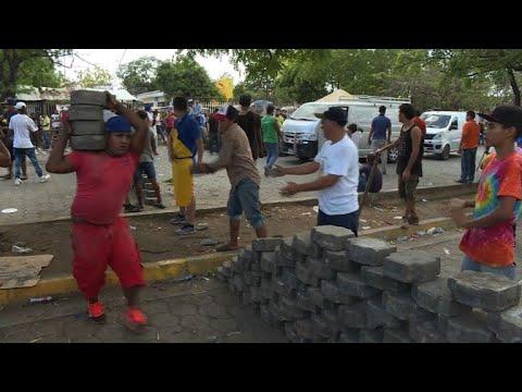 Des magasins pillés dans la capitale du Nicaragua
