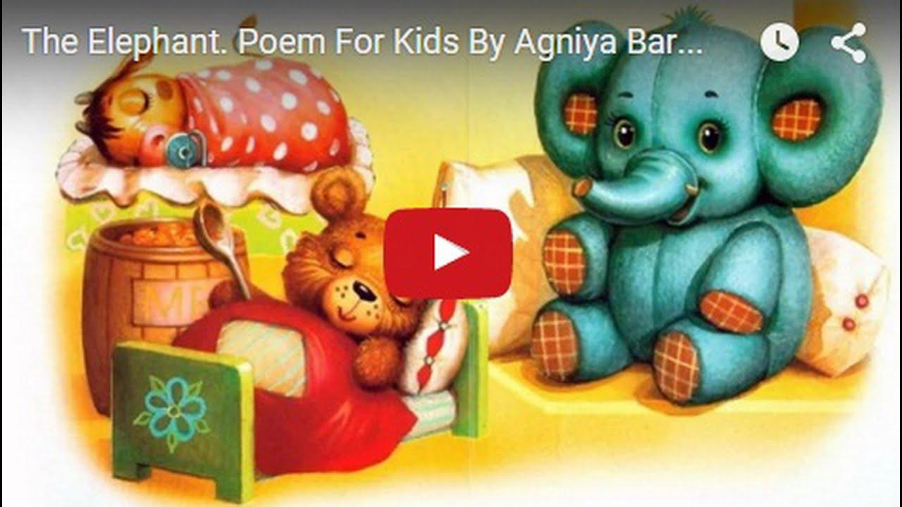 Agnia Barto verses for children: 35 small masterpieces 72