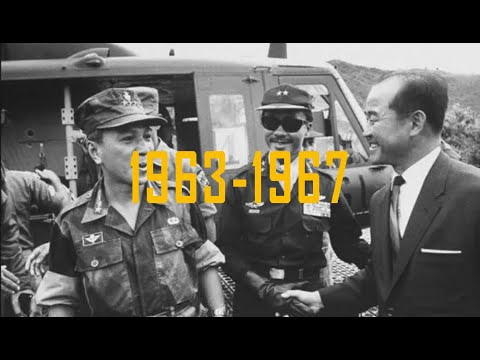 Tóm tắt tình hình chính trị ở miền Nam Việt Nam từ năm 1963 - 1967