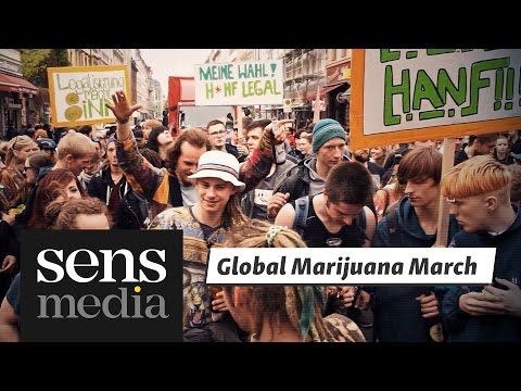 Global Marijuana March Berlin 2017 | sens in.motion